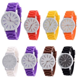Montre mixte gel de silicone
