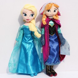 Lot de 2 peluches La reine...
