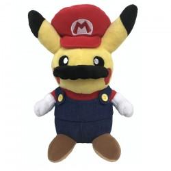 Peluche Pikachu Mario