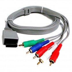 Cable YUV pour Wii / Wii U