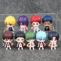 Lot de 9 porte clé Kuroko's...
