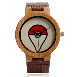 Montre Pokemon en bois