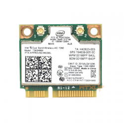 Carte Wifi AC Intel 7260 mPCIe