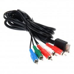 Cable YUV pour PS2 / PS3