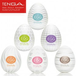 Lot de 6 eggs Tenga