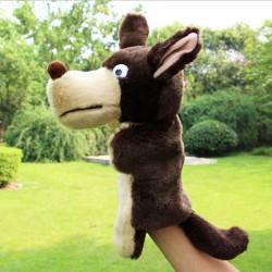 Peluche Marionnette Loup